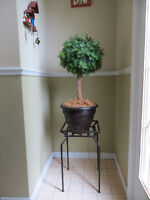 Artificial Plant and Plant Stand