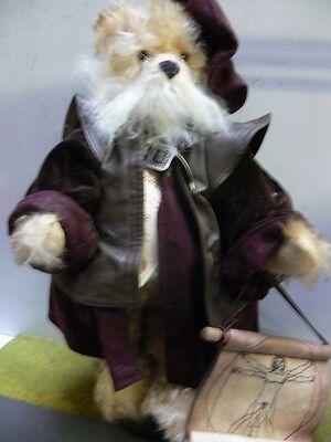 HC 216 Hermann Coburg Teddy Leonardo da Vinci ca.46 cm mit Stimme