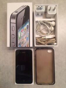 UNLOCKED black iPhone 4s 64g EXCELLENT condition!