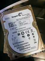 Laptop hard drives. 500gb and 750gb