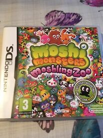 Moshling zoo DS game