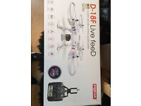D-18F Live Feed 6 Axis Remote control quadcopter