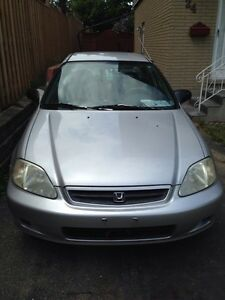 2000 Honda Civic low kilometres Kitchener / Waterloo Kitchener Area image 2