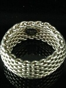 Tiffany & Co Sommerset Ring - Authentic