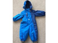 Lassie Ski / Snow suit - 80cm (approx. age 18months - 2 years)