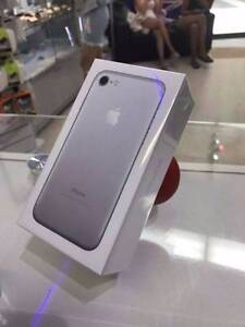 BRAND NEW IPHONE 7 PLUS SILVER 128GB APPLE WARRANTY TAX INVOICE Surfers Paradise Gold Coast City Preview