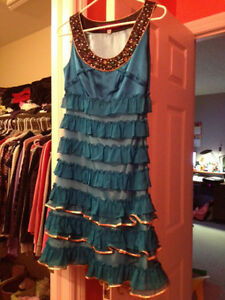 Beautiful Blue Dress (Great for proms and parties)SALE! Kitchener / Waterloo Kitchener Area image 1