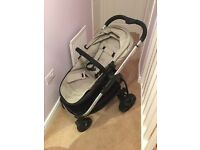 iCandy Strawberry 2 pushchair and carrycot in Dune