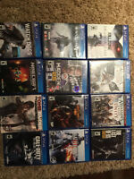 Playstation 4 Games (Wanted: Nintendo DS)