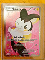 Full Art EMOLGA Pokemon Card - Mint Condition