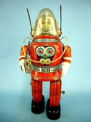Nomura Toy Astronaut Electric Vintage Tin Toy Robot from Japan F/S