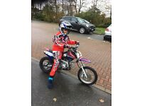 110cc dirt bike (not cr,crf,kx,Kxf,rm,rmz,yz,yzf)