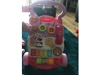 Excellent working condition baby walker