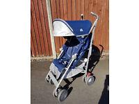 Maclaren techno XT medieval blue pushchair