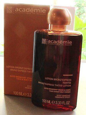 Bronzer Lotion (academie Lotion Bronz´express 100 ml Bronzer Flüssigkeit matt )