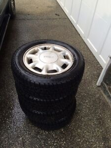 Ford 195/60-R14 winter tires