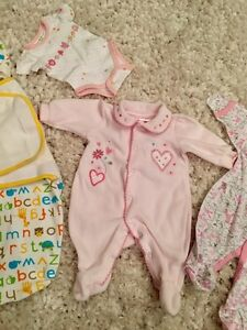 Lot of newborn/ preemie clothes + 10$ off breastpump coupon West Island Greater Montréal image 3