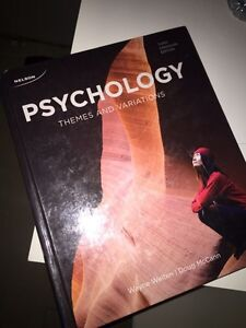 QUICK SELL PSYCH 101/102 textbook
