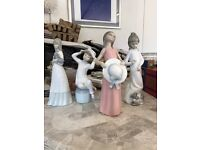 Lladro figurines set