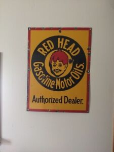 Rare redhead sign and more