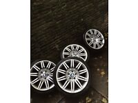"Bmw 19"" GENUINE Spider alloys 5x120 STAGGERED"