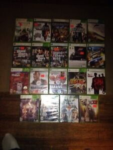 Selling 20 Xbox 360 games