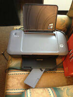 HP Deskjet 1000 printer, ink included