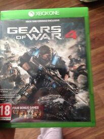 Official Gears Of War 4 Exclusive for Xbox One. Brand new and sealed!