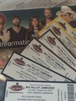 BVJ Tickets - 2 General Admission, 2 Kick Off Party and Camping