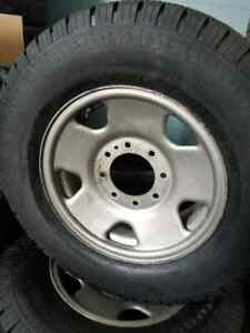 """2010 F250 17"""" rims and tires package"""