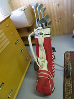 Men's NWG Golf Clubs and Wilson Bag