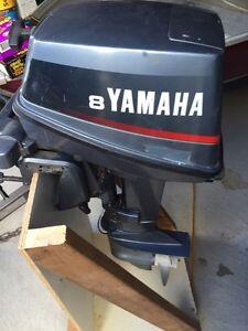 Yamaha 8 hp 2stoke