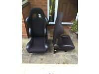 Bucket seats for car