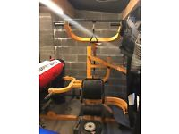 POWERTEC WORKOUT BENCH WITH PLATES