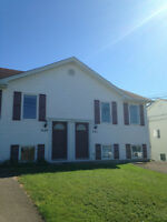 3 bedroom side by side duplex with washer & Dryer!!