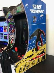 GALAGA AND SPACE INVADERS 2 PLAYER 60 GAME ARCADE MACHINE NEW