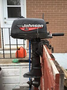 JOHNSON 5hp great shape