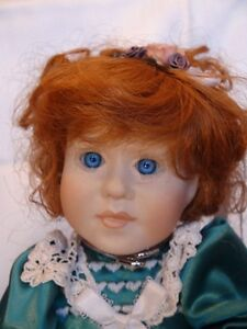 Meggan's Collectors Canadian Procelain Handmade Doll Anna Belle London Ontario image 1