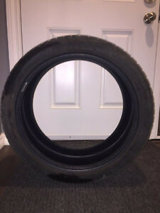 Blizzack 245/40/19 winter tires off rims Regina Regina Area image 2
