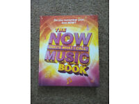 The NOW THAT'S WHAT I CALL MUSIC Book - Immaculate Condition! FREE!!!