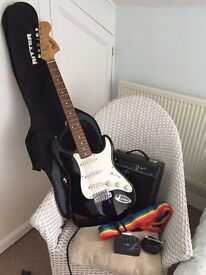 Fender Squire Strat Electric Guitar kit