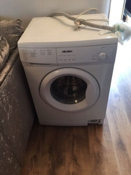 Bush white washing machine Pick up from ton Pentre Fully working order