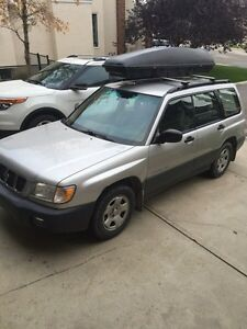 2001 SUBARU FORESTER AWD LSeries