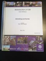 Advertising and Society 2172