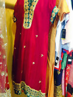Beautiful Mehndi Dress on Sale