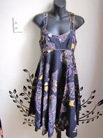 FCUK (French Connection) multicolored butterfly dress - Size 4
