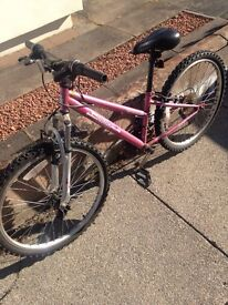 "Pink Girls Bike Apollo 24"" Tyres"