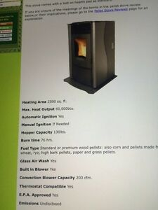 Pellet stove barely used CHEAP WINTER HEAT SOURCE!