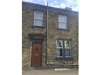 Roberttown 2 bed terrace, seperate kitchen & lovely huge garden