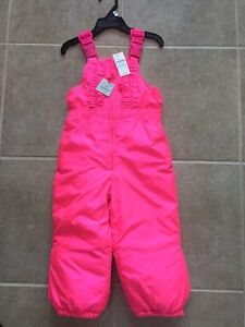 Girl Gap winter snow pants 2T new with tag